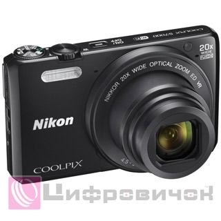 Nikon CoolPix S7000 Black