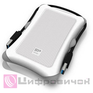 "Silicon Power Armor A30 2.5"", 2Tb (SP020TBPHDA30S3W) White"