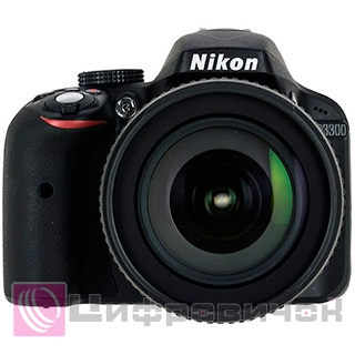 Nikon D3300 Kit (18-105 DX VR) Black