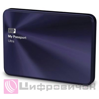"Western Digital My Passport Ultra 2.5"", 1Tb (WDBTYH0010BBA) Purple"