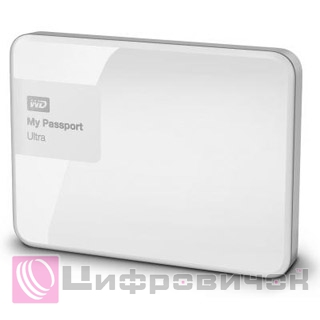 "Western Digital My Passport Ultra 2.5"", 2Tb (WDBBKD0020BWT) White"