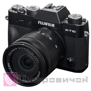Fujifilm X-T10 Kit XC 16-50mm Black