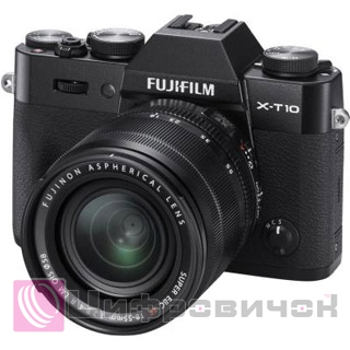Fujifilm X-T10 Kit XF 18-55mm F2.8-4R Black