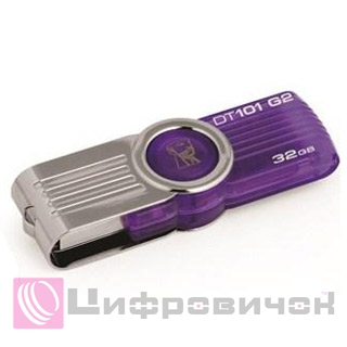 Kingston DataTraveler 101 G2 32GB (DT101G2/32GB) Purple