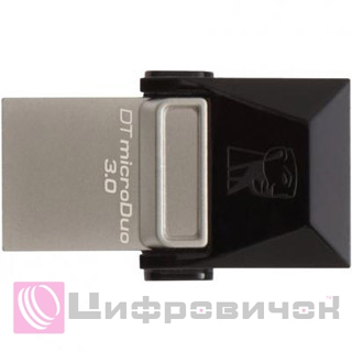 Kingston DataTraveler microDuo 64GB (DTDUO3/64GB) Black