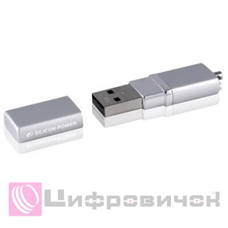 Silicon Power LuxMini 710 32Gb Silver (SP032GBUF2710V1S)