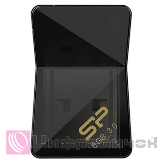 Silicon Power Jewel J08 8GB Black (SP008GBUF3J08V1K)