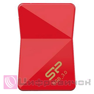 Silicon Power Jewel J08 8GB Red (SP008GBUF3J08V1R)