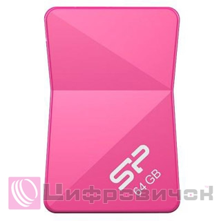 Silicon Power Touch T08 64GB Peach (SP064GBUF2T08V1H)