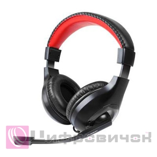 Gemix HP-802 MV Black-Red
