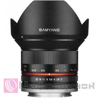 Samyang 12mm F2.0 ED AS NCS CS Sony-E