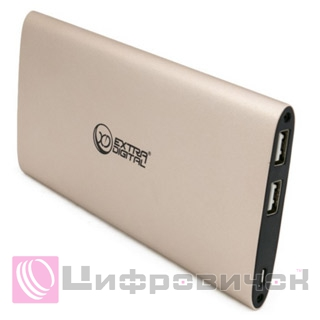 Power Bank ExtraDigital YN-034L Gold