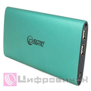 Power Bank ExtraDigital YN-034L Mint