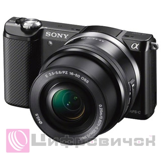 Sony Alpha a5000 16-50mm + 55-210mm Black