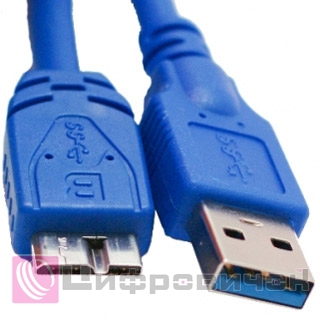 Кабель Extradigital USB 3.0 AM - Micro USB 1.5m