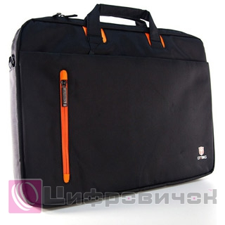 Сумка DTBG 17 (D8338BL-17) Black-Orange