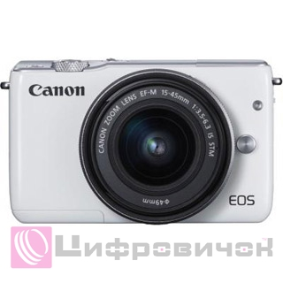 Canon EOS M10 Kit (15-45 IS STM) White