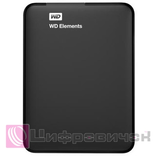 "Western Digital Elements 2.5"", 750GB (WDBUZG7500ABK) Black"