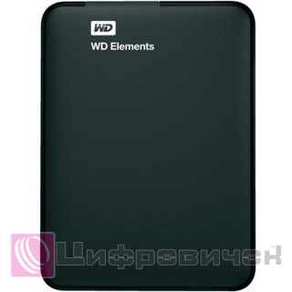 "Western Digital Elements 2.5"", 3Tb (WDBU6Y0030BBK) Black"