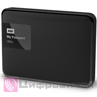 "Western Digital My Passport Ultra 2.5"", 3Tb (WDBBKD0030BBK) Black"