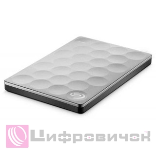 "Seagate Backup Plus Ultra Slim 2.5"", 2Tb (STEH2000200) Platinum"