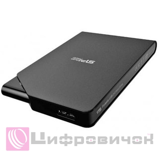 "Silicon Power Stream S03 2.5"", 500Gb (SP500GBPHDS03S3K) Black"