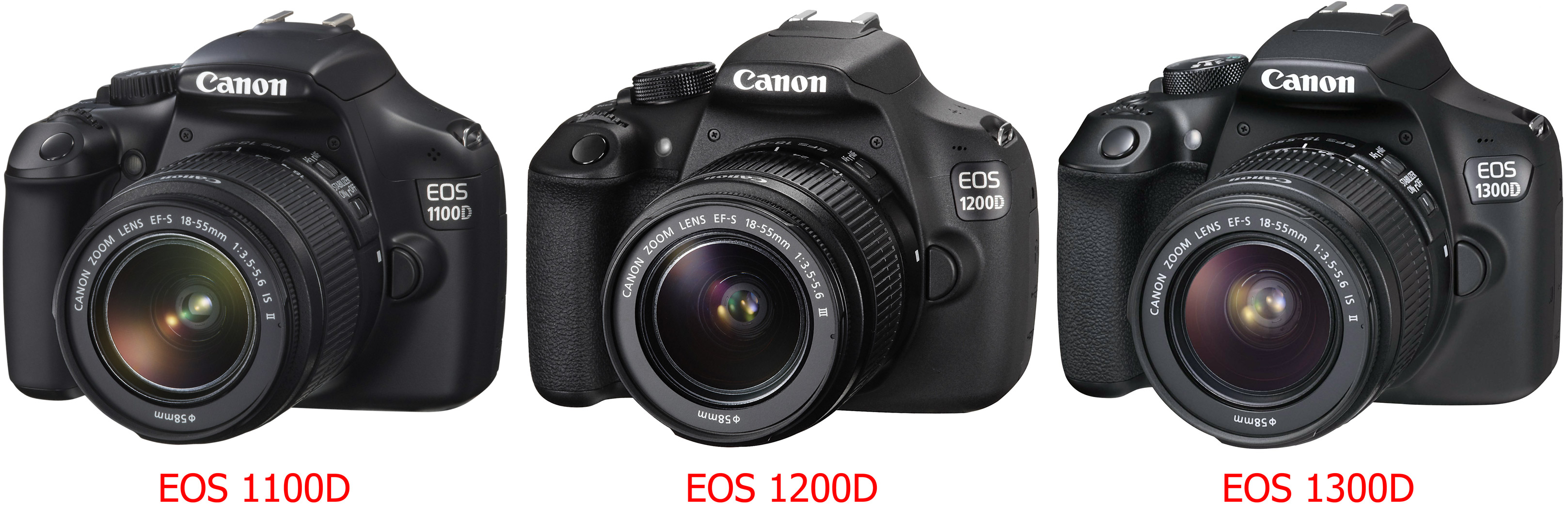 Canon EOS 1300D evolution cyfrovychok