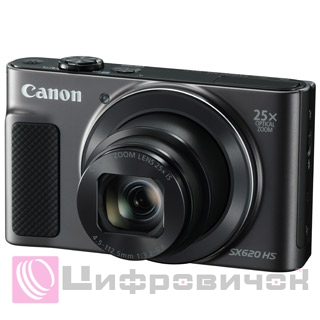 Canon PowerShot SX620 HS Black with Wi-Fi