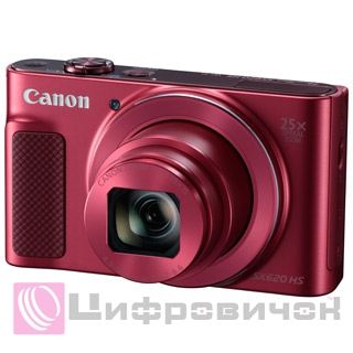 Canon PowerShot SX620 HS Red with Wi-Fi