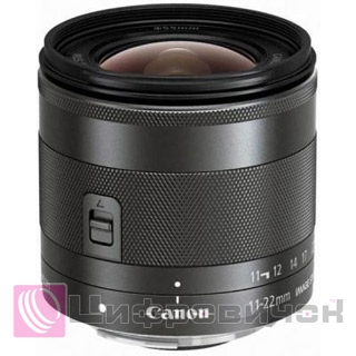 Canon EF-M 11-22mm f 4.0-5.6 IS STM