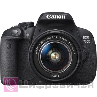 Canon EOS 700D Kit (18-55 DC III)