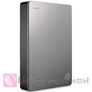 Seagate Backup Plus Portable 2.5, 4Tb (STDR4000900) Silver