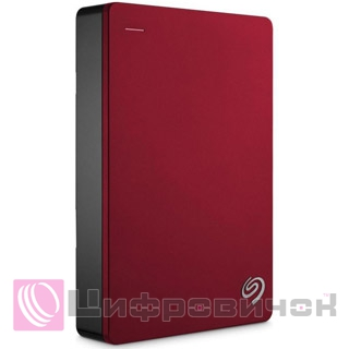 Seagate Backup Plus Portable 2.5, 4Tb (STDR4000902) Red