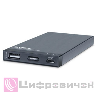Power Bank Sven MP-4017 4000 mAh Black