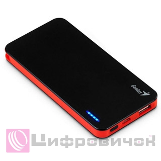 Power Bank Genius ECO-U306 3000 mAh Black-Red