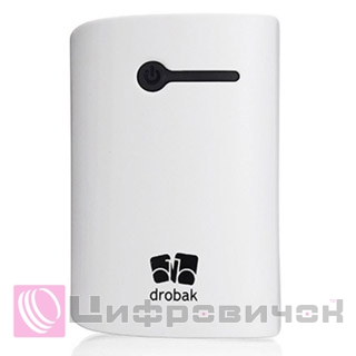 Power Bank Drobak Power-7800 White