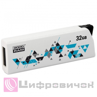 GoodRAM Click USB 2.0 32GB (UCL2-0320W0R11) White