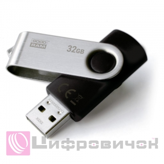 GoodRAM Twister USB 2.0 32GB (UTS2-0320K0R11) Balck