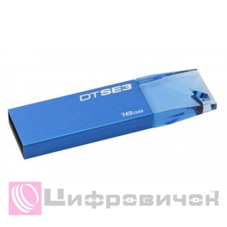 Kingston DataTraveler SE3 16GB USB 2.0 (KC-U6816-4C1B) Blue