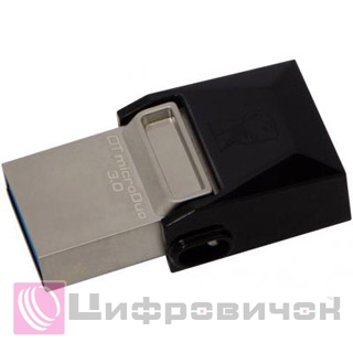 Kingston DT microDUO 32GB USB 3.0 (DTDUO3/32GB) Black