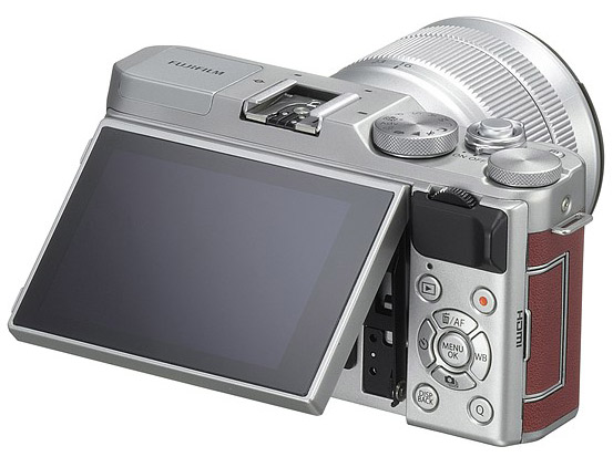 Fujifilm X-A3 back display cyfrovychok