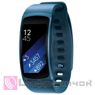 Смарт годинник Samsung Gear Fit 2 SM-R360 L Blue