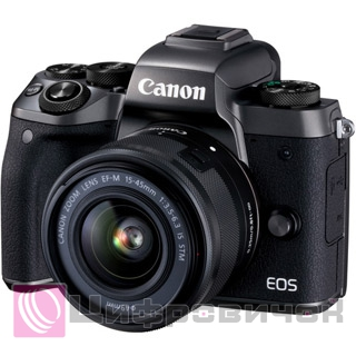 Canon EOS M5 Kit (15-45 IS STM) Black
