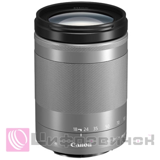 Canon EF-M 18-150mm f 3.5-6.3 IS STM Silver