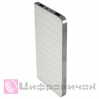 Power Bank CoolUp CU-Y006 6500mAh White (BAT-CU-Y006-WH)