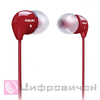 Philips SHE3590 Red (SHE3590RD)