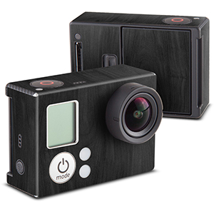 Black Woodgrain for GoPro HERO3