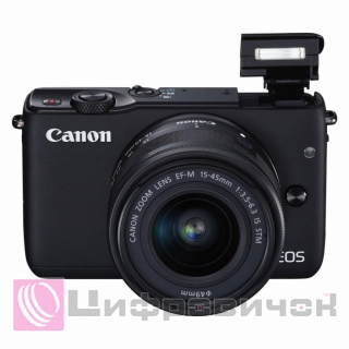 Canon EOS M3 Kit (15-45 IS) Black