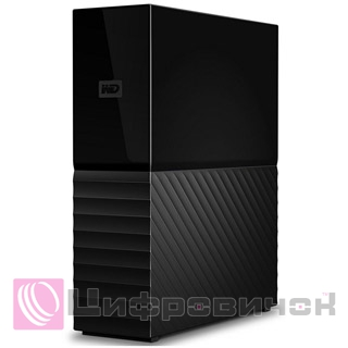 "Western Digital My Book (New) 3.5"" 3Tb (WDBBGB0030HBK-EESN) External Black"