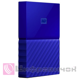 "Western Digital My Passport 2.5"" 2Tb (WDBYFT0020BBL-WESN) External Blue"